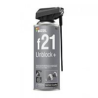 Bình xịt phá gỉ Bizol Unblock+ f21