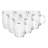 Bộ ly 6 cái Union Glass 307 Ly quai 300ml  không ngã màu,  sản xuất Thái Lan