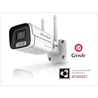 Vantech Camera 4.0MP Onvif Wifi Bullet AI-V2031C - Hàng chính hãng