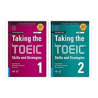 Sách - Combo Taking the TOEIC 1 + Taking the TOEIC 2 - FirstNews