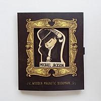 Bookmark gỗ nam châm Michael Jackson BO022