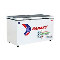 Tủ đông Sanaky VH-3699W4K 2 chế độ 260L màu xám kính cường lực - Hàng chính hãng - chỉ giao tại Hà Nội