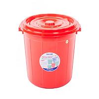 Thùng tròn có nắp 25 lít Duy Tân 629 (36.5 x 35.5 x 38 cm) giao màu ngẫu nhiên thùng đựng gạo thực phẩm