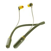 Tai nghe Bluetooth Wireless Skullcandy INKD+ Vàng Xanh Rêu - Hàng Chính Hãng
