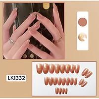 Bộ 24 móng tay giả nail thời trang (như hình-LK1332)