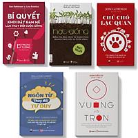 Sách-combo 5 cuốn ngôn từ thay đổi tư duy+chú chó lạc quan+bí quyết+hạt giống+vuông và tròn
