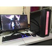 Bộ máy tính để bàn trọn bộ MỚI màn 22 inch full viền full hd dùng cho dự án Văn Phòng, Học tập, bán hàng, lướt web, game giải trí