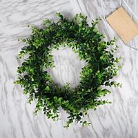 Vòng hoa cỏ xanh 25cm, 30cm, vòng hoa trang trí