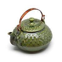 Ấm  trà chấm nhật  Đông Gia -xanh Crystal 14
