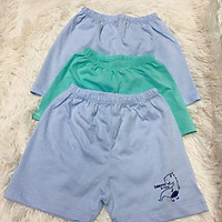 Sét 3 quần đùi sơ sinh Dokma