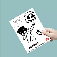 Marshmello - Single Sticker hình dán lẻ