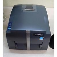 COMBO Máy in mã vạch Godex G500 (Hàng chính hãng) + Tem (35x22mm) + Mực Wax Premium (50m)