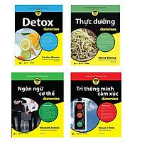 Bộ 4 cuốn sách Dummies nên có: Detox - Thực Dưỡng - Ngôn Ngữ Cơ Thể - Trí Thông Minh Cảm Xúc