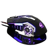 ZIYOU LANG V5 Chuột Gaming Có Dây LED 7 màu cực đẹp chuyên game, dây siêu bền, chỉnh được DPI - Hàng Chính Hãng