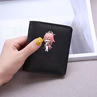 Ví ngắn cầm tay in hình YAE MIKO game GENSHIN IMPACT anime chibi đựng vật dụng nhỏ xinh xắn tiện lợi