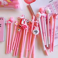 Set 20 Bút bi nước hồng dễ thương - mẫu ngẫu nhiên
