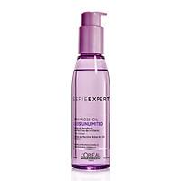 Tinh dầu L'oreal Primrose oil Liss Unlimited chăm sóc tóc duỗi xơ rối chống nhiệt khi sấy 125ml
