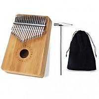 Kalimba 17 phím gỗ Mahagony JKLIM998 - Tặng túi đựng đàn xinh xắn