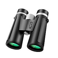KKmoon 12×42 Binoculars Compact High Magnification HD Binocular Telescope for Hiking Sightseeing Concert Travel