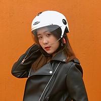 Mũ bảo hiểm 1/2 đầu có kính Sunda 137B, hàng chính hãng nhiều màu