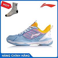 Giày cầu lông nữ Lining AYTQ028-2 hàng chính hãng - Tặng kèm tất Bendu chính hãng