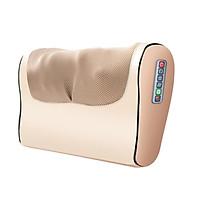 Gối massage Hồng ngoại giúp ngủ ngon, lưu thông máu, trị đau đầu, lưng vai gáy nhức mỏi (BẢN 2 MẢNH)