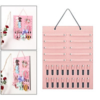 Headbands Holder Newborn Band Bows Retail Organizer Display Hanging Pink