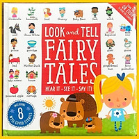 Look and Tell Fairy Tales - bìa cứng ( kèm file nghe)