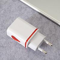 Củ Sạc Nhanh 2 Cổng USB Kèm Đèn Ngủ Tiện Dụng