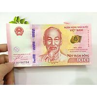 100 đồng kỷ niệm 65 năm ngân hàng nhà nước Việt Nam, kèm phơi nylon bảo vệ - PCCB MINGT