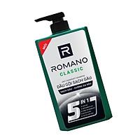 Dầu gội Sạch Gàu Romano Classic 5 in1 650g