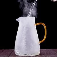 Bình đựng nước thủy tinh chịu nhiệt cao cấp crystan vân dập nổi - ANTH470