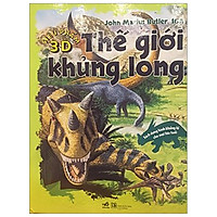 Siêu phẩm 3D - Thế giới khủng long (Sách dựng hình 3D Kèm Book mark Giga) - (Tặng kèm Bookmark PĐ)
