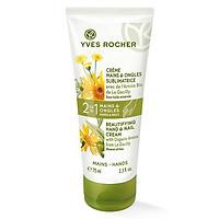 Kem Dưỡng Da Tay Và Móng Tay Beautifying Hand & Nail Cream Yves Rocher (75 ml)