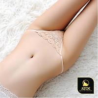 Quần lọt khe nữ dễ thương Ren đẹp xuyến thấu xẻ đáy chất lượng cao cấp Sexy gợi cảm quyến rũ kiểu Hàn Quốc JIZOE QNK03