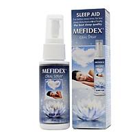 Dung dịch Mefidex xịt miệng chứa Melatonin hỗ trợ mất ngủ 30ml