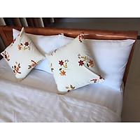 Sọc T300 - Vỏ chăn, vỏ mền 1.8mx2m trắng sọc cho khách sạn nhà nghỉ