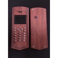 Vỏ gỗ cho điện thoại Nokia 1200, 1208, 1209 mẫu trơn