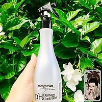 Xịt dưỡng Sophia Platium tóc cân bằng độ PH Damage Controller 300ml tặng kèm móc khoá