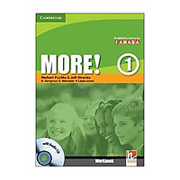 More! Level 1 Workbook with Audio CD Reprint Edition