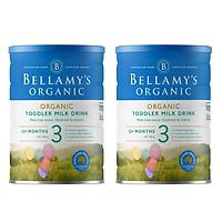 Combo 2 lon Sữa Công Thức Hữu Cơ Bước 3 Bellamy's Organic (900g)