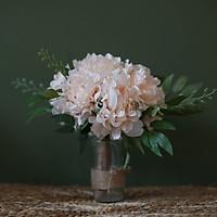 Bình hoa giả trang trí đẹp Mẫu Đơn lớn