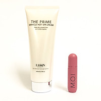 Kem tan mỡ The Prime Miracle Hot - Spa Cream + tặng kèm son kem lì M.O.I Sgirl