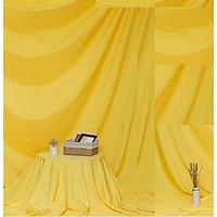 Phông vải đơn sắc vàng 2.9x2m