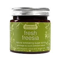 Tẩy Tế Bào Chết Hoa Lan Fresh Freesia Natural Exfoliating Sugar Scrub Scentuals (125g)