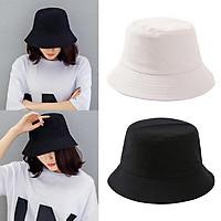 2 Pack Classic Fashion Bucket Hat Unisex Fishing Sun Hat Folding Bucket Cap