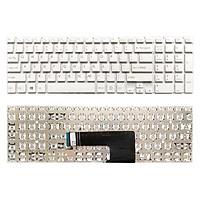 Bàn Phím Dùng Cho Laptop Sony Vaio FIT15, SVF15, SVF15E, SVF152 Keyboard Màu Trắng