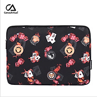 canvasartisan Las Vegas Style Laptop Bag Waterproof Tablet Notebook Sleeve Case for acer dell Macbook Air Pro 11/12/13/14/15 inch
