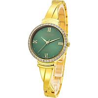 Đồng hồ nữ siêu mỏng Sunrise 9945AB đính đá kính Sapphire chống xước chống nước tốt - Fullbox chính hãng