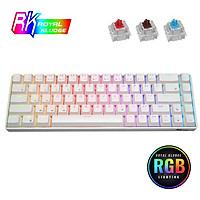 Bàn phím cơ không dây mini Royal Kludge RK68 Bluetooth 5.1 dành cho laptop, máy tính, điện thoại gọn nhẹ - Hàng chính hãng